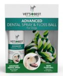 Vets Best Dental Spray Met Floss Kit