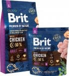 brit premium by nature adult hond voer